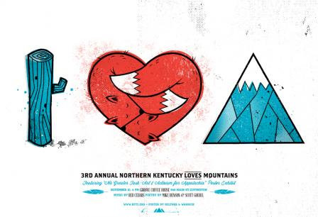 I Love Mountains Print