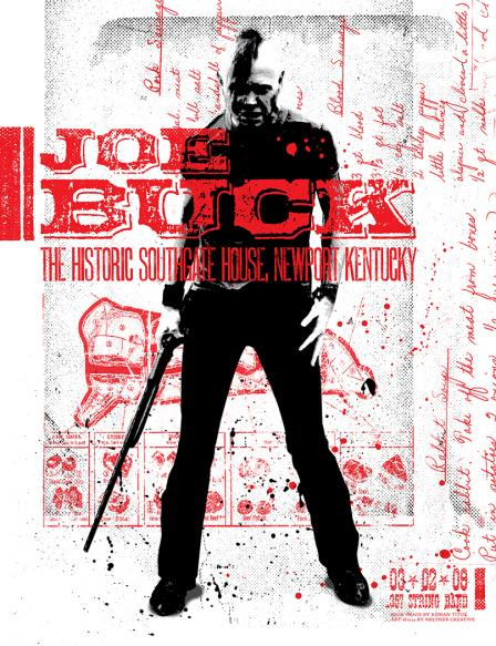 Joe Buck At Southgate House Print