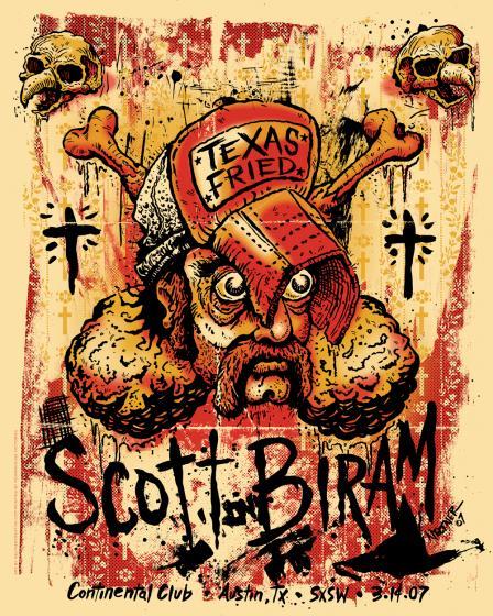 Scott Biram Print