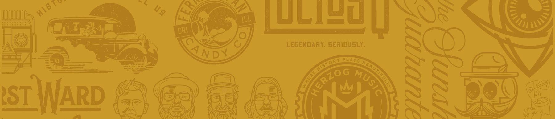 gold-logo-pattern